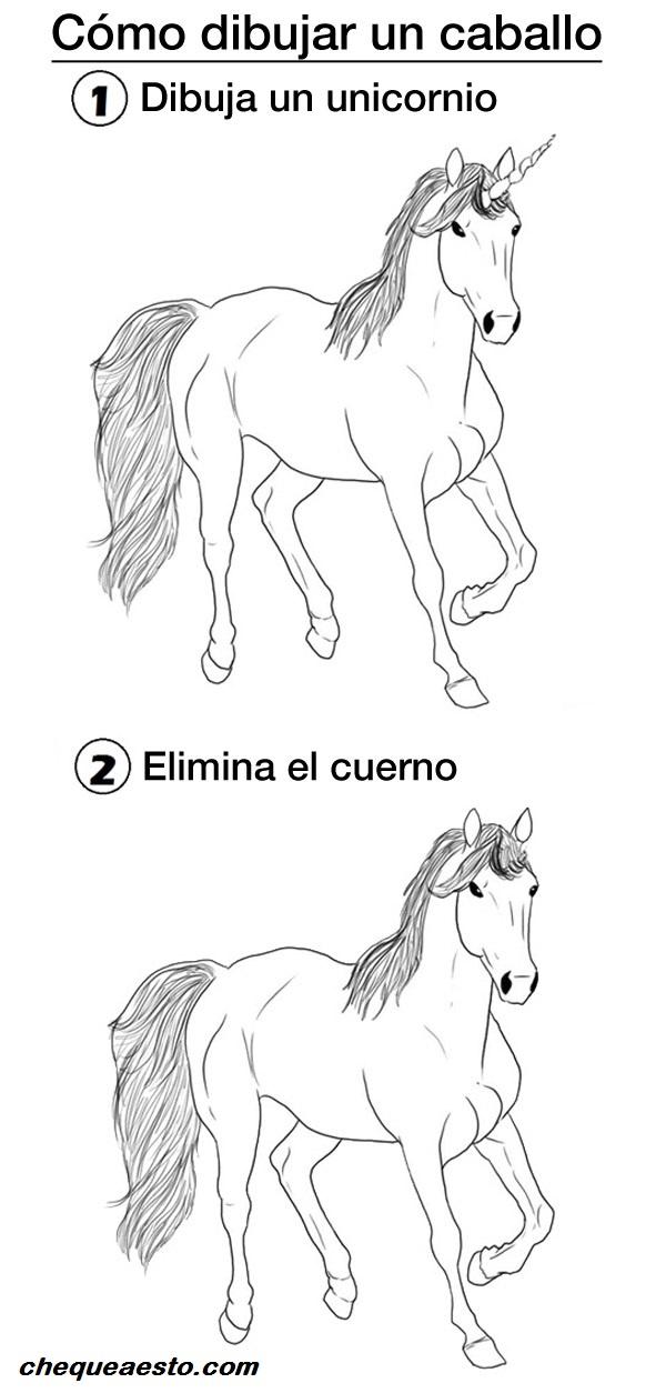 Como-dibujar-un-caballo
